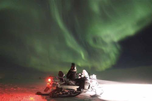 Northern lights photos from Iceland